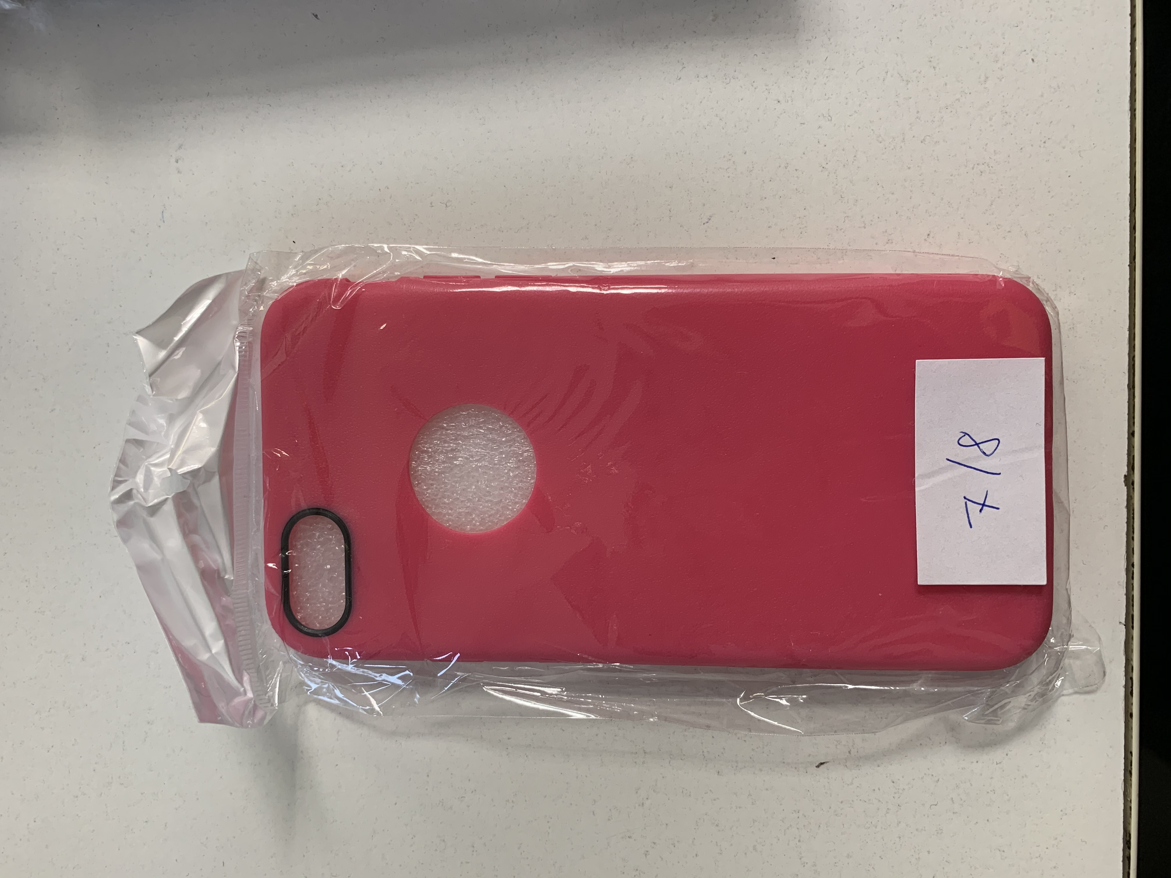 Apple iPhone 7/8 pink szilikon tok